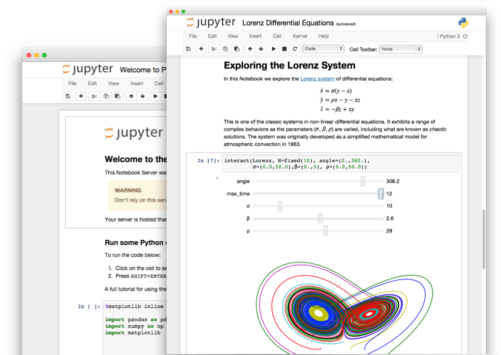 Jupyter Notebook preview